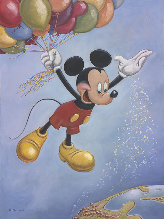 Mickey- 90th-Birthday-Portrait